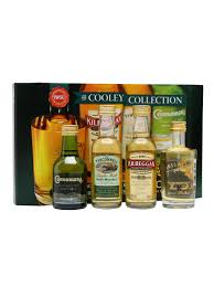 Scotch Gift Basket Cooley Collection Irish Whiskey Miniatures 4 Pk The Whisky Exchange