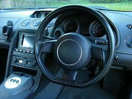 lamborghini gallardo e gear interior and dash of a lamborghini gallardo coupe e gear car