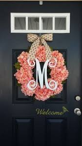 monogram wreath monogram wreath with elizabeth diy monogram hydrangea