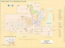 Las Vegas Casino Floor Plans Caesars Palace Property Map Las Vegas Maps