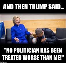 Anti Obama Meme - hillary clinton knows why she s loling with obama in those anti