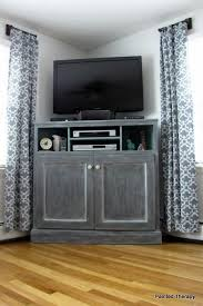 how to build a tv cabinet free plans diy furniture plan from ana white com build a corner media stand