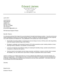 cover letter design sample of cover letter for engineering j