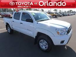 find used toyota tacoma orlando used cars offer durability toyota of orlando