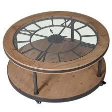 Clock Coffee Table Clock Coffee Table Mo S