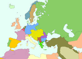 Map Of Europe 1914 Image Map Of Europe And Middle East 1914 Png