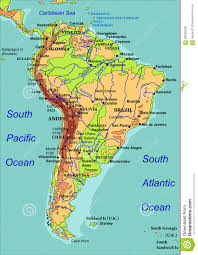 The Map Of Spain by South America Maps Maps Of South America Ontheworldmapcom Road