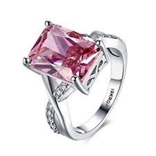 crystal jewelry rings images Godyce swarovski crystal rings for women size 6 9 jpg