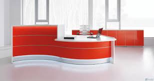 fresh wonderful white curved office desk 6655