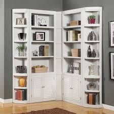 new shallow white bookcase home design wonderfull fancy to shallow