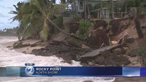 erosion takes out more homes on oahu u0027s north shore youtube