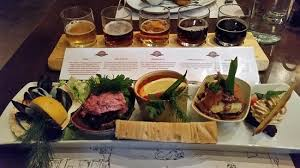cuisine viking viking plank five dishes and five beers picture of aegir