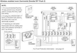 honeywell central heating wiring diagram regarding central heating