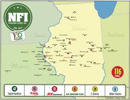 Iowa Illinois Map About Us County Market Niemann Foods Inc