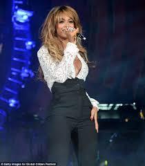 blouse nip slip photos beyonce s blouse burst open during energetic performance