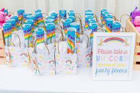 party favors unicorn 1st birthday rainbow birthday party 100 layer cakelet