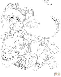 anime coloring page free printable coloring pages
