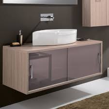 Contemporary Bathroom Vanities Maple Contemporary Wall Mount Bathroom Vanity