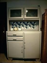 meuble de cuisine retro cheap cuisine retro grise projet with