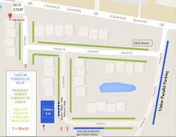 Ohio University Parking Map by University Townhomes Parking Permit Application U2013 Kent State