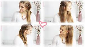 Hochsteckfrisurenen Glatte Haare Selber Machen by Schön Frisuren Offene Haare Die Neuesten Und Besten 24 Für Dich