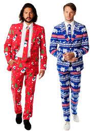 opposuit mens christmas party suit rudolph reindeer winter fancy
