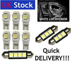 interior led car light bulbs kit white fit vw golf mk4 iv ebay