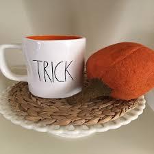 rae dunn trick treat halloween mug mercari buy u0026 sell things