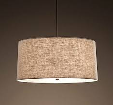 Pendant Light Drum Shade Drum Shades For Pendant Lights With Punch Shade Craftsman Style