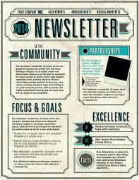 newsletter sample templates bid templates