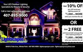 Orlando Landscape Lighting Lightscapes Led Landscape Lighting By Lightscapes Outdoor Lighting