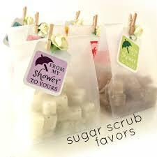 unique favors baby shower favors mini sugar scrubs 3 00 each unique