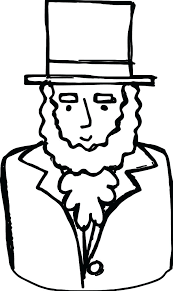 Hat Coloring Page Download Large Image Thanksgiving Pilgrim Hat Coloring Page Of A Hat