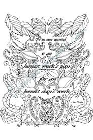 coloring page honest week u0027s pay by creativetsunami on etsy kolor