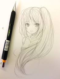 Cute Anime Hairstyles I Love Anime Almost Obsessed I Try To Practice Drawing As Much