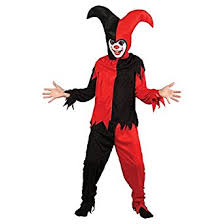 Halloween Costumes Jester Creepy Jester Boys Halloween Fancy Dress Clown Costume Kids Joker