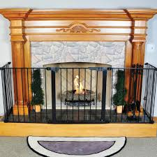 cool fireplace gate home style tips classy simple at fireplace