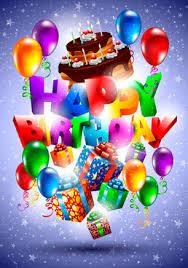 free happy birthday postcard free vector 5 401 free