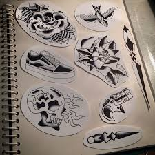 new school tattoo drawings black and white 19 best sketch images on pinterest design tattoos glitter tattoos