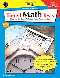 amazon com the 100 series timed math tests addition and