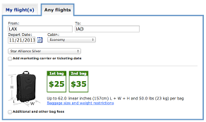 United Airlines Baggage Allowance | united airlines reduces free checked baggage allowance for star