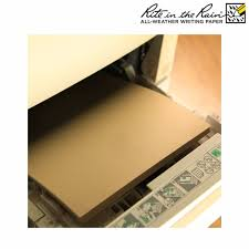 weather writing paper rite in the rain all weather copier paper a4 50 sheets tan rite in the rain all weather copier paper a4 50 sheets tan