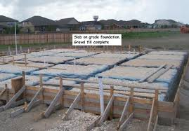 new home foundation new home construction stage 1 foundations jwk inspections concrete