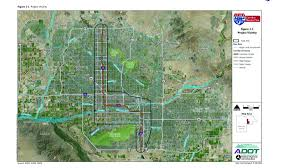 Phoenix Traffic Map by I 10 Relief In Sight For Perpetual Broadway Curve Traffic