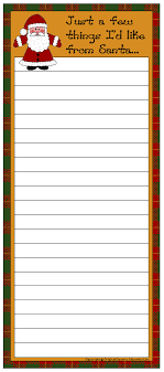 christmas wish list maker free shopping lists to print