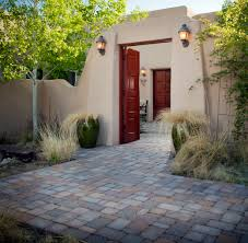 Courtyard Home Designs by Home Designs Modern Courtyard Feature Hacienda Home Ideas
