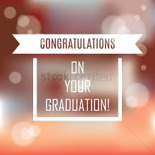 congratulatory message for your graduation vector image 1827435