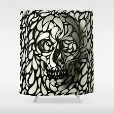 Graphic Shower Curtains by Abstract Black White And Graphic Design Shower Curtains Society6