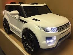 range rover sport white 2017 2017 range rover evoque 12v kids ride in car white large 3 7yrs