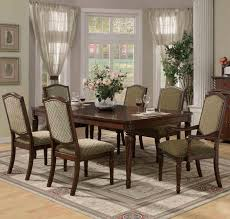 dining rooms casual dining room ideas sheer curtains barred